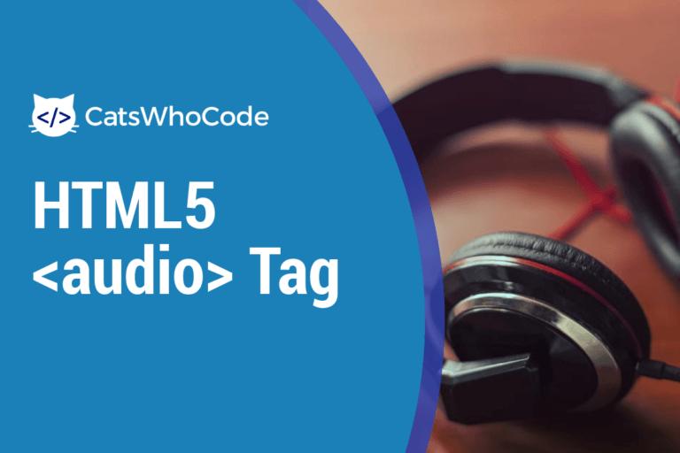 HTML5 Audio Tag