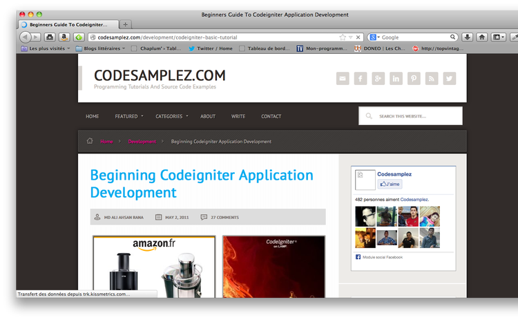 CodeIgniter Tutorial: Learn to Master CodeIgniter 2
