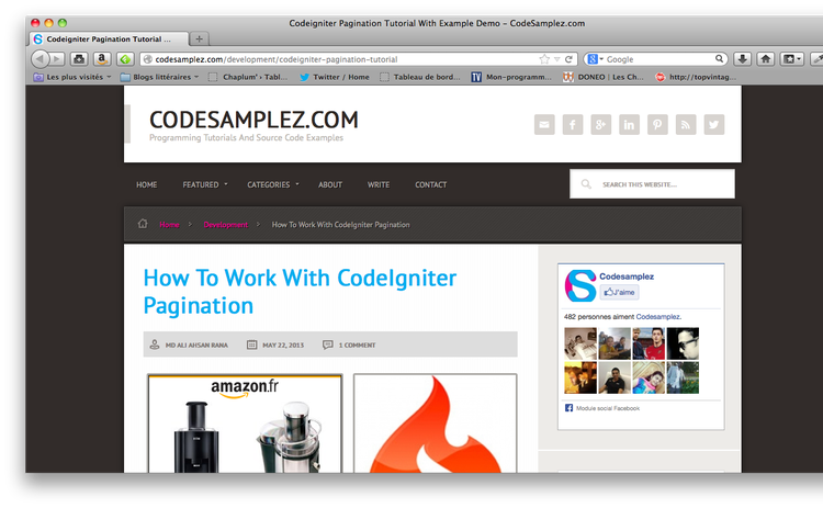 Awesome tutorials to master CodeIgniter 8