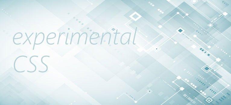 Experimental CSS pseudo-classes and pseudo-elements