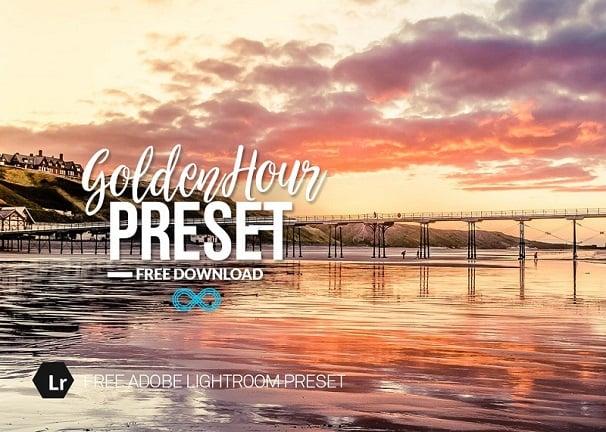 free lightroom preset, golden hour preset
