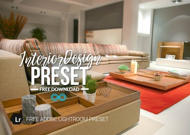free lightroom preset,interior design preset