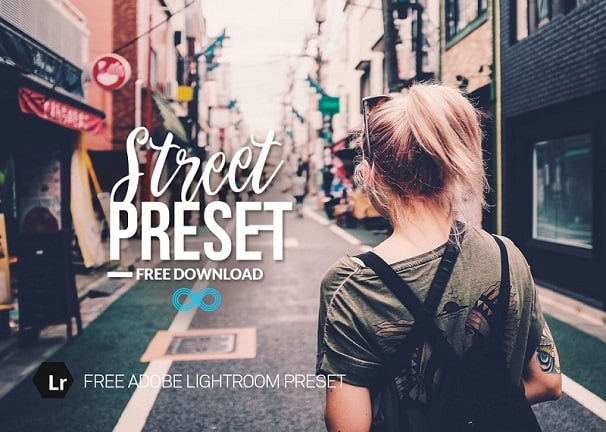 free lightroom preset, street photography