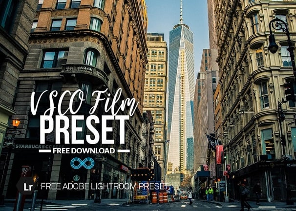 VSCO, free lightroom preset