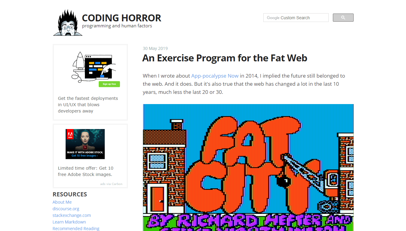 Coding Horror - Jeff Atwood