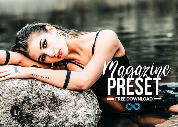 free magazine lightroom preset