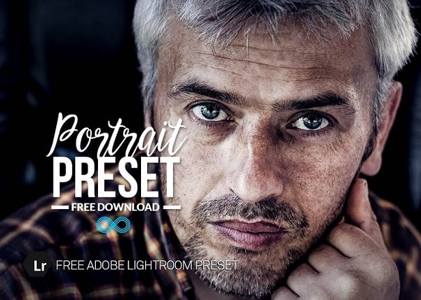 free lightroom preset, portrait