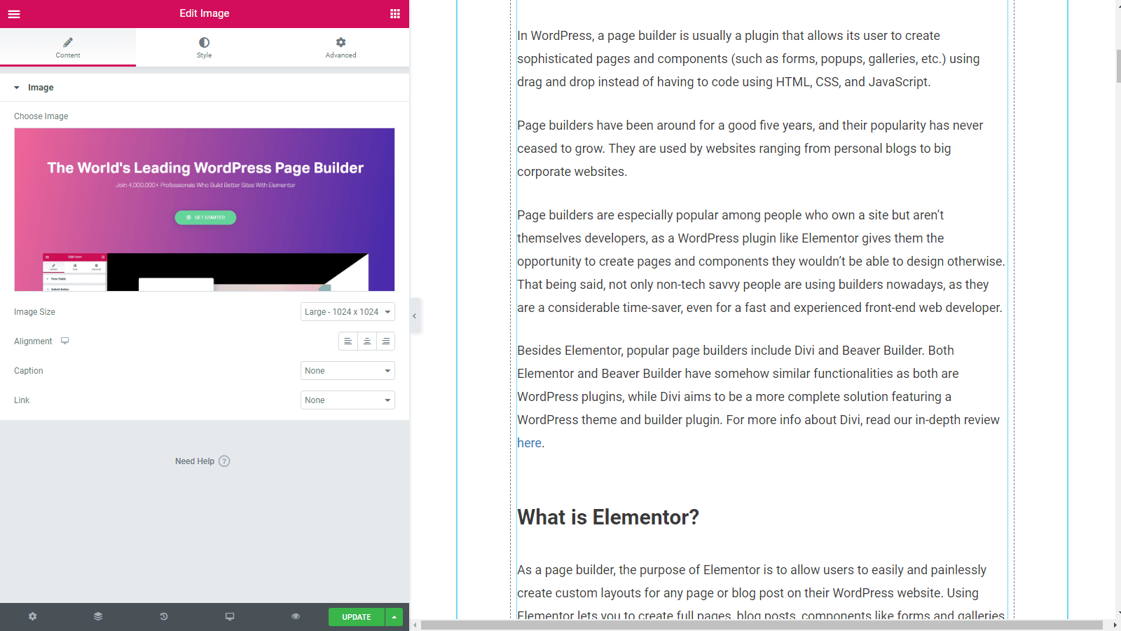 Elementor Review 2020: The Best Page Builder for WordPress? 1
